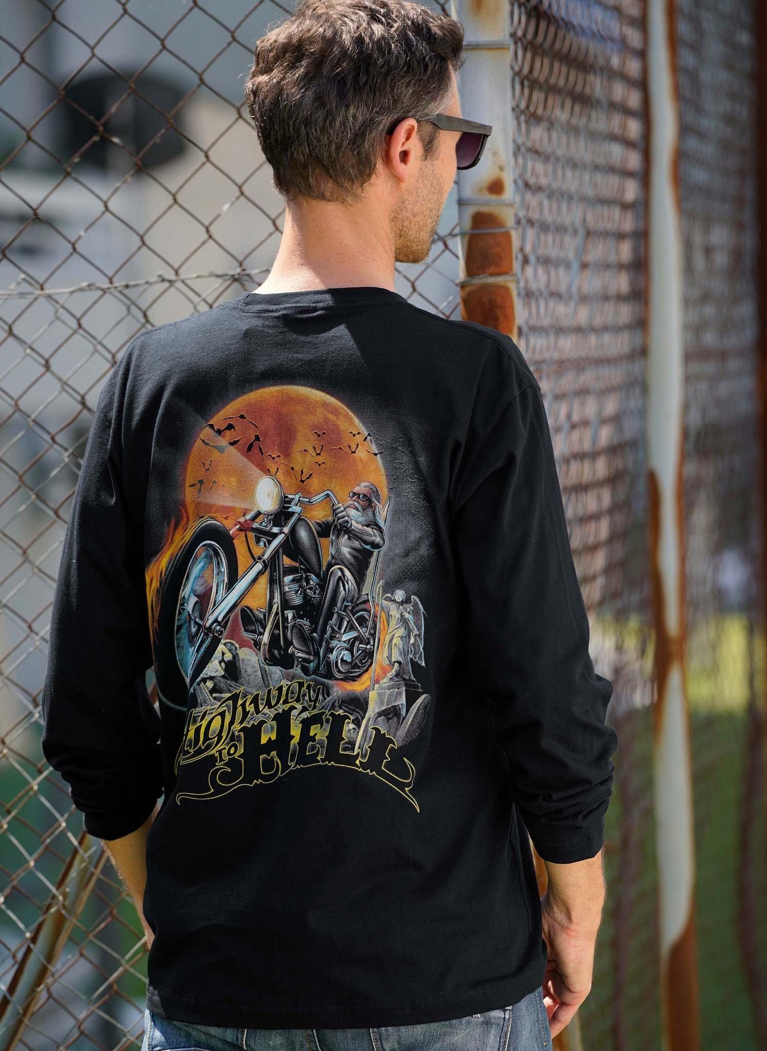 H-LA-Shirt, Mond/Bike, schwarz XXL 010 - 2 - Ronja.ch