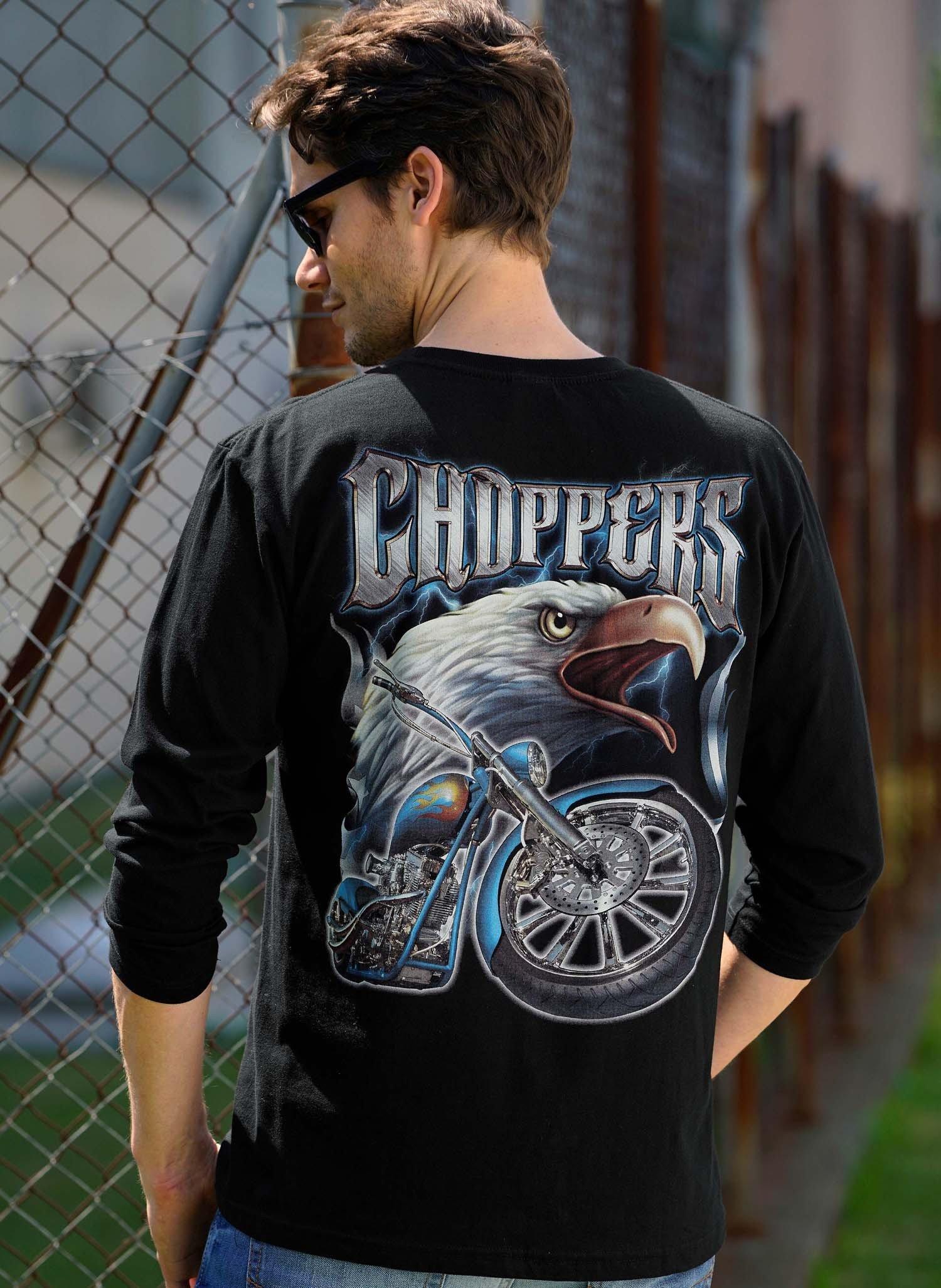 H-LA-Shirt,Adler/Bike, schwarz XXL 010 - 2 - Ronja.ch