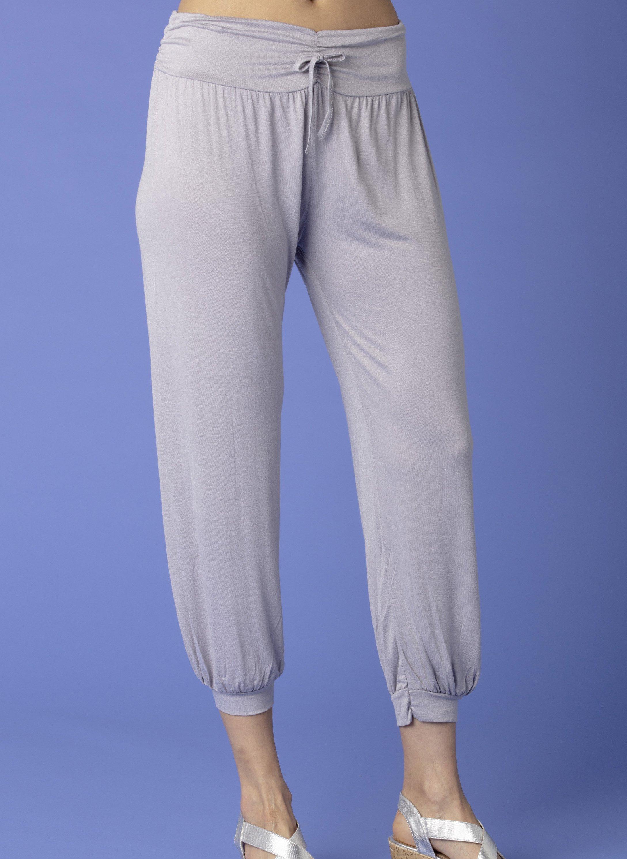 D-Pantalon,Jersey argent
