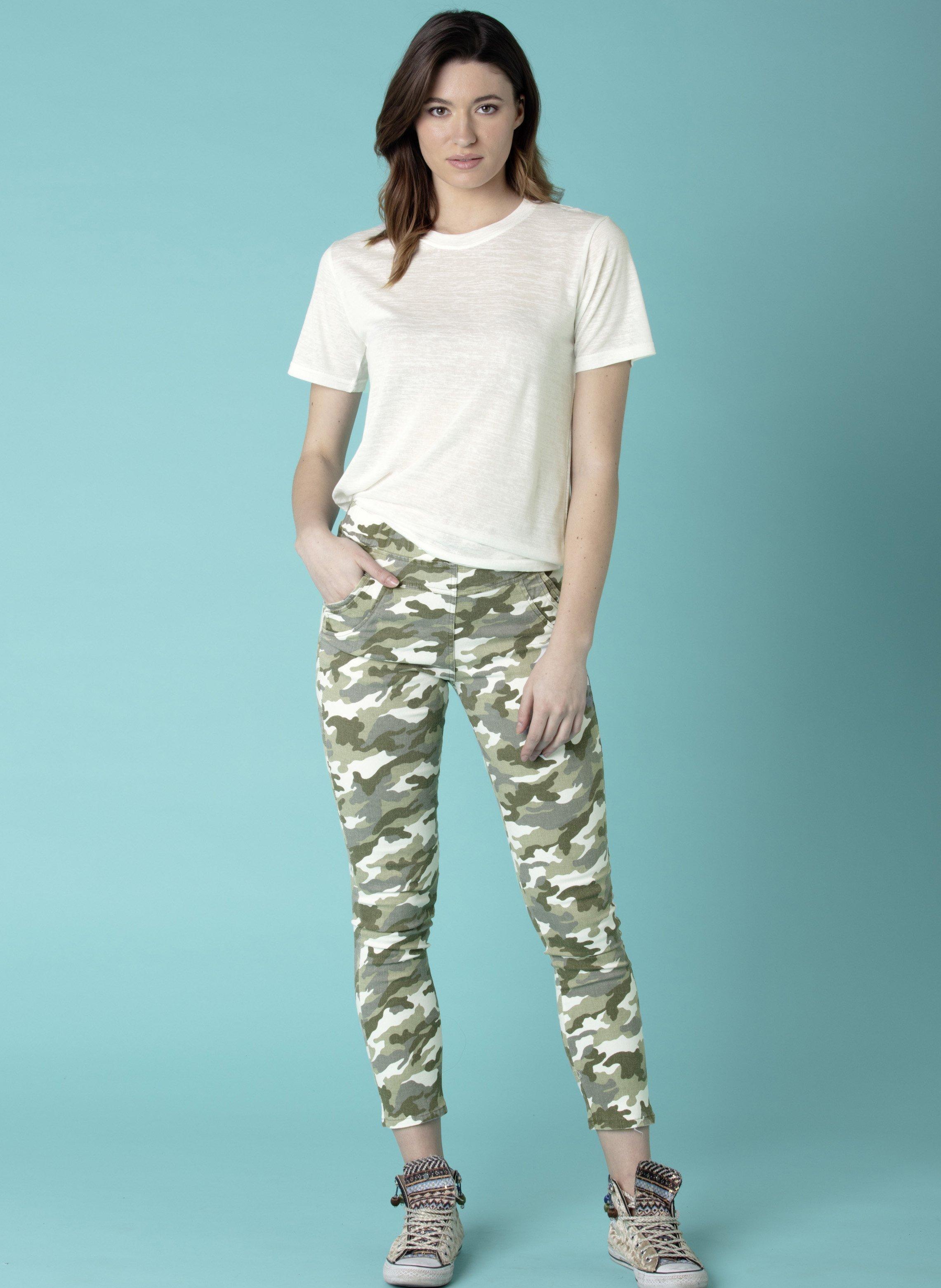 Treggings, imp.camouflage