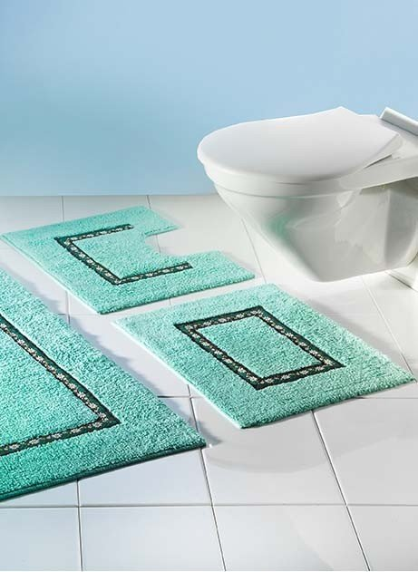 WC-Tapis,s/C.Edelw.vert 55x45