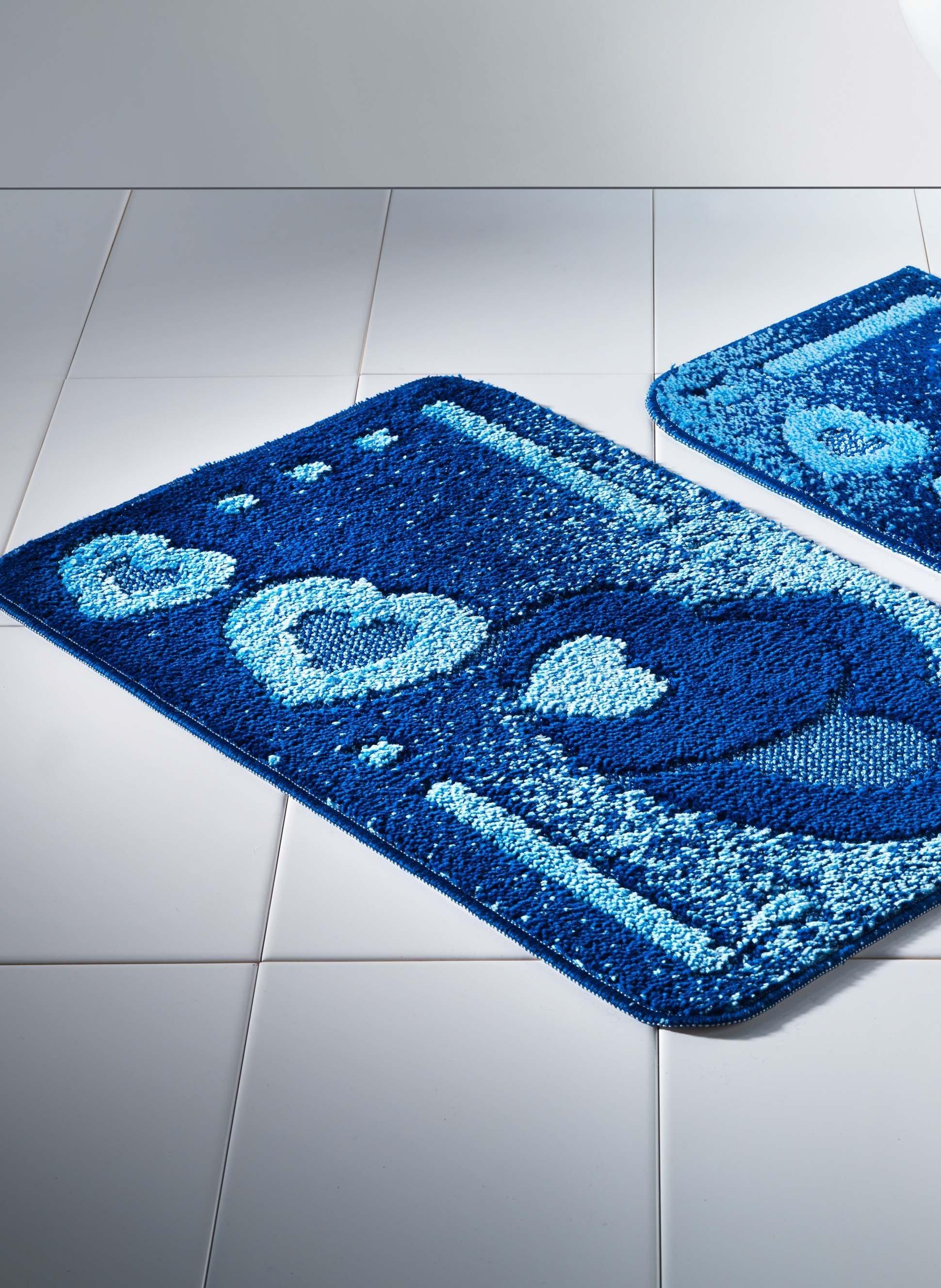 Gar.Bain/WC,Coeur 2p.s.C bleu