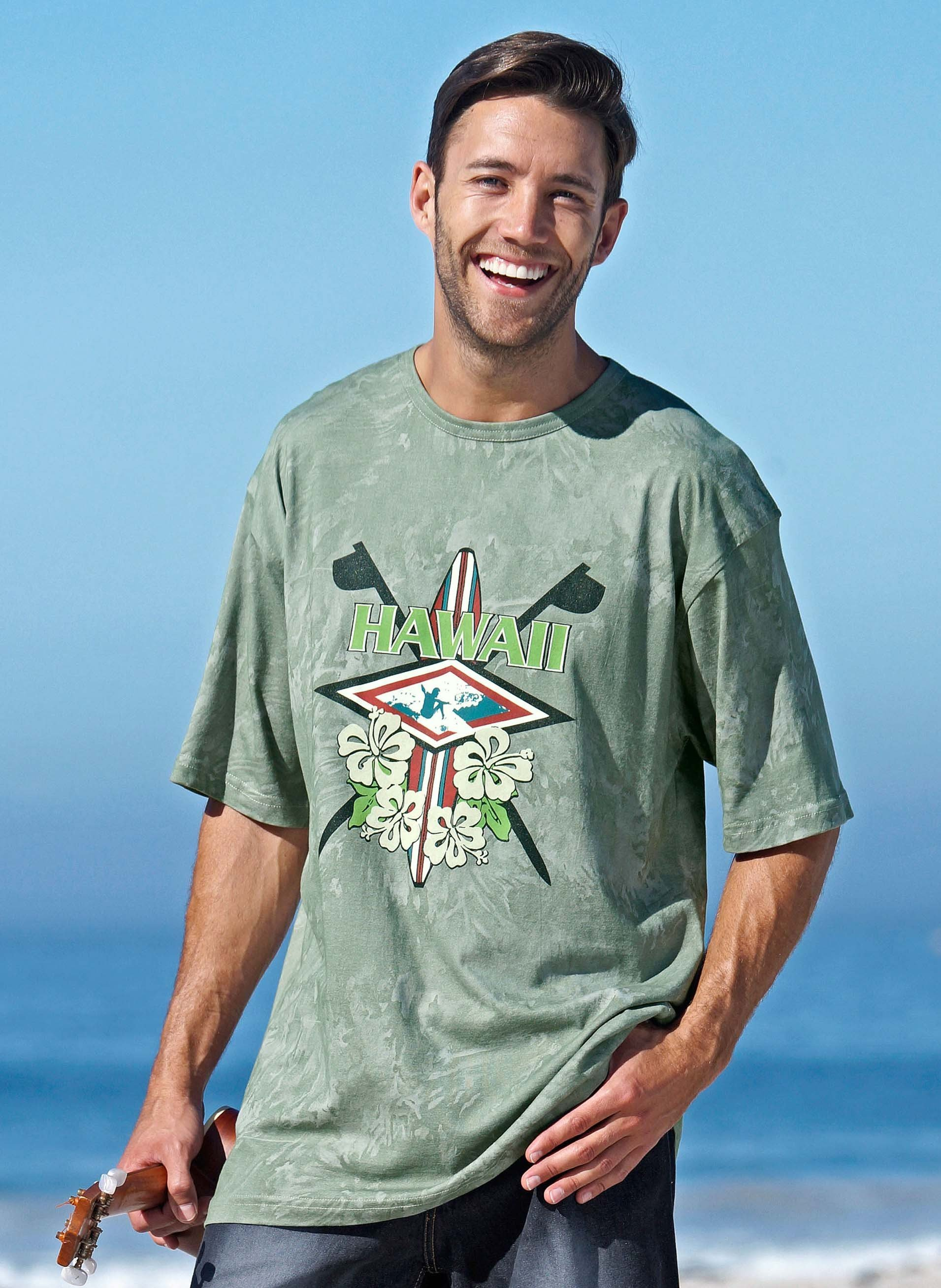 Shirt à manches courtes «HAWAII»