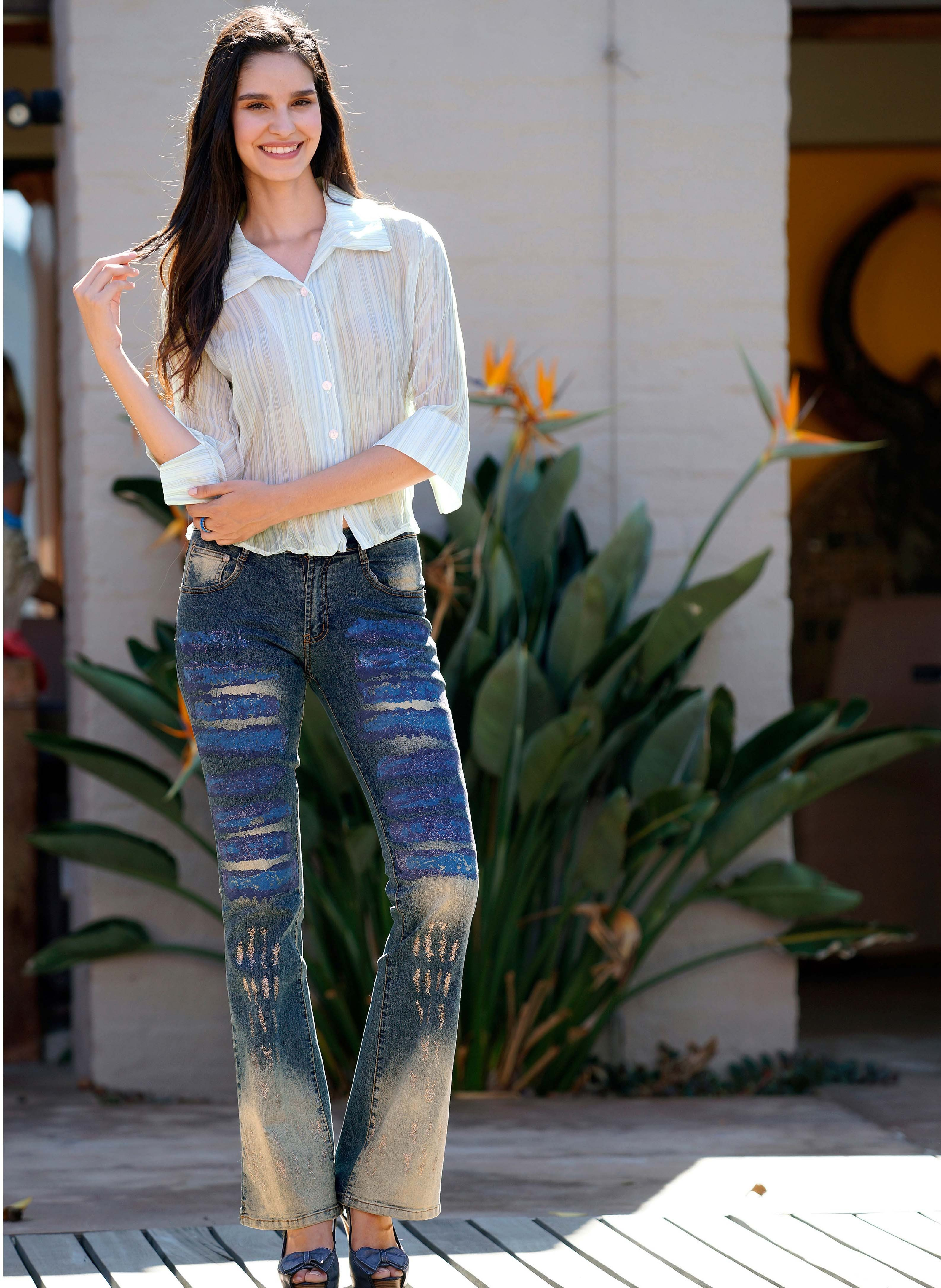 Jeans stretch 5 poches