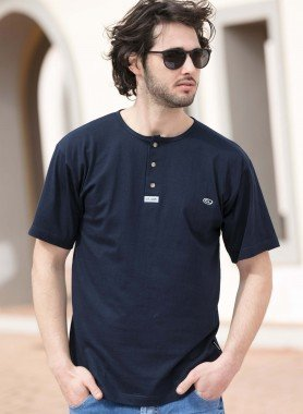 Shirt à manches courtes «at. com»