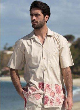 Kurzarm-Beachhemd