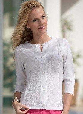 Jaquette en tricot
