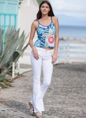 Colors-Jeans Bell-Bottom