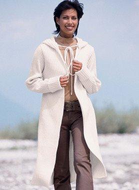 Manteau en tricot