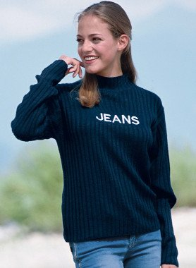 Pull «JEANS»