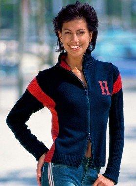 Veste en tricot «H»