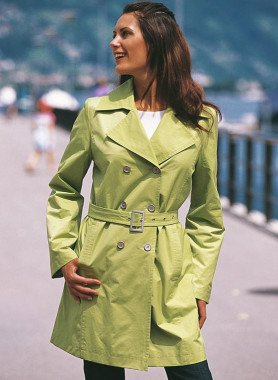 Mantel, doppelreihig geknöpft
