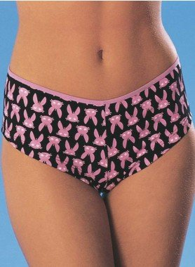Panty,  lapin rose, 3 pièces