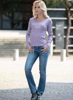 Jeans, Strass-Zieranhänger
