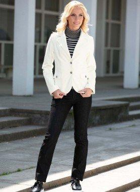 Röhrli-Jeans, Black-Denim