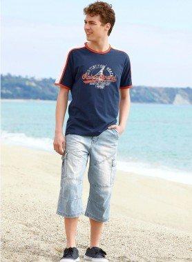 Skater Jeans Schenkeltaschen