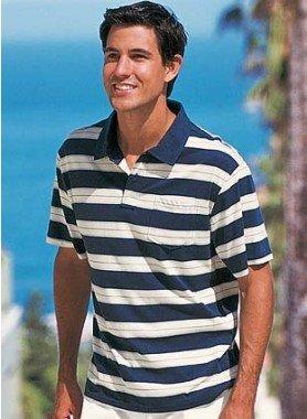Polo-Shirt, rayé