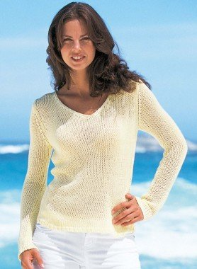 Pull-over en tricot