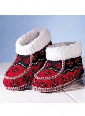 Pantoufles en tricot
