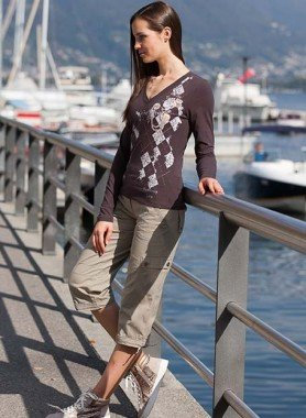 Pantalon Capri Outdoor