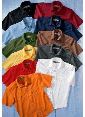 Chemises Colors-Jeans  MC
