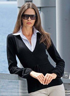D-Pullover-Bluse,schwarz L 010 - 1 - Ronja.ch