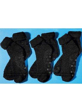 U-Haus-Socken,3xPaar schwarz 3538 010 - 1 - Ronja.ch