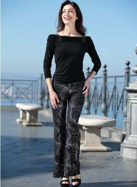 Pantalon avec lyrex