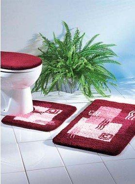 Garniture Bain/WC 3 pièces avec coupe