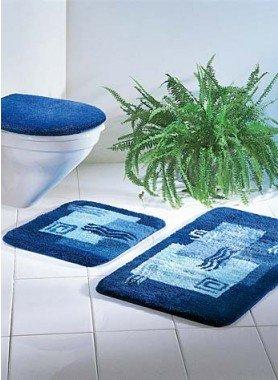 Garniture Bain/WC 3 pièces * ETOILE  DE MER *