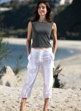 Pantalon 7/8 en polyamide