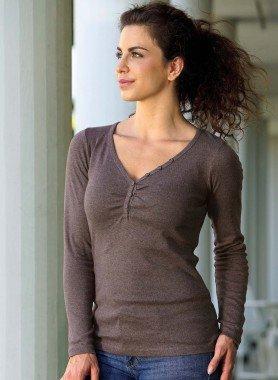 D-LA-Shirt,V-Auss.schwarz L 010 - 1 - Ronja.ch