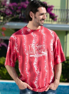 "Shirt ""Free-Spirit"", manches courtes"