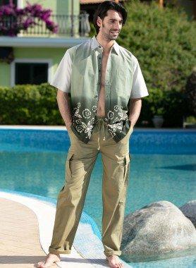 Pantalon, poches sur les cuisses