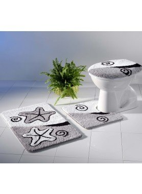 Garniture Bain/WC *SEESTERN* 3 pièces  avec coupe