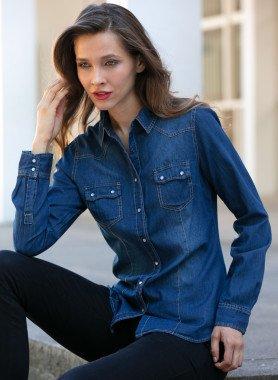 Blouse en Jeans