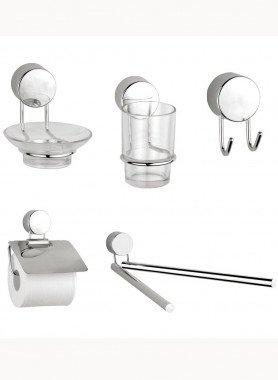 Accessoires de salle de bain, 5 pièces