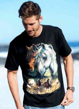 Shirt, chevaux