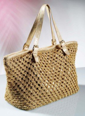 D-Handtasche,Glitzer, gold - 2 - Ronja.ch