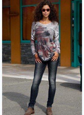 D-5-Poket Jeans, Black-Denim 34 012 - 1 - Ronja.ch