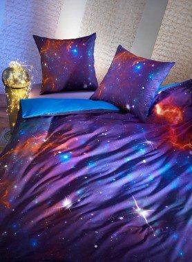 Garniture de lit impr.numérique  *ANDROMEDA*