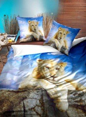 """Garniture de lit, impr.numérique  """"SARABI"""""""