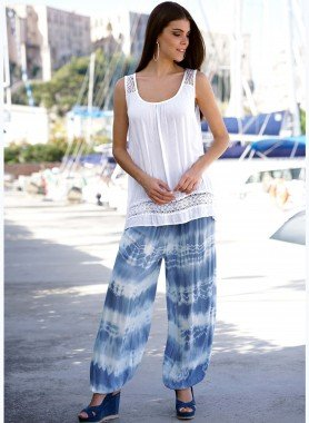 Pantalon bouffant, Batik