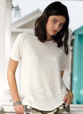 Shirt à manches courtes, optique chiné