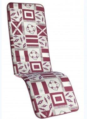 """Coussins pour chaises longues  """"NAUTICA"""""""