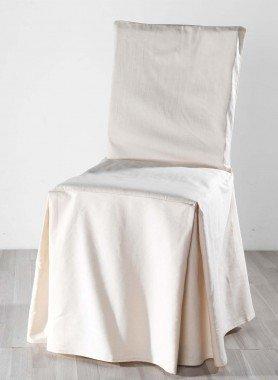 Housse pour chaise, optique  lin