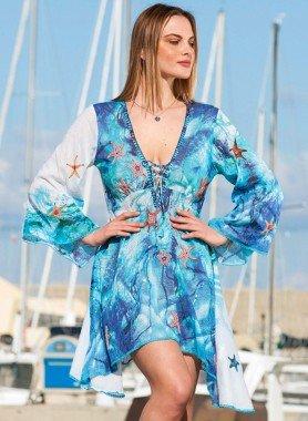 Robe/Tunique,  étoiles de mer
