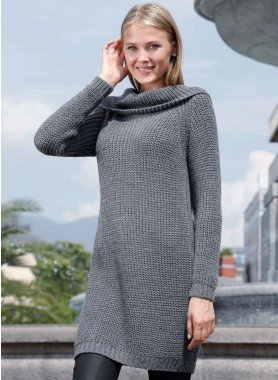 Pull long, optique mailles