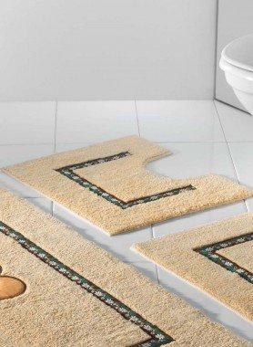 Contour WC avec coupe *EDELWEISS*,  55x45cm