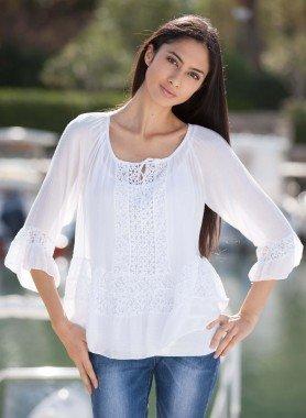Top avec blouse